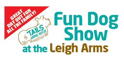 Leigh arms dog show flyer