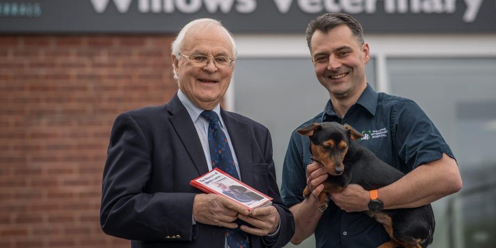 Retired Cheshire vet and author Derek Carter