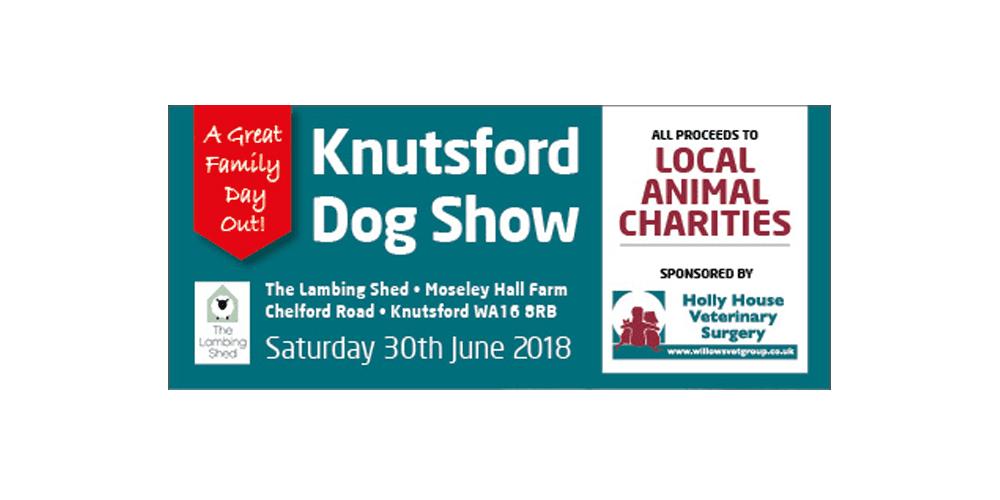 Knutsford dog show banner