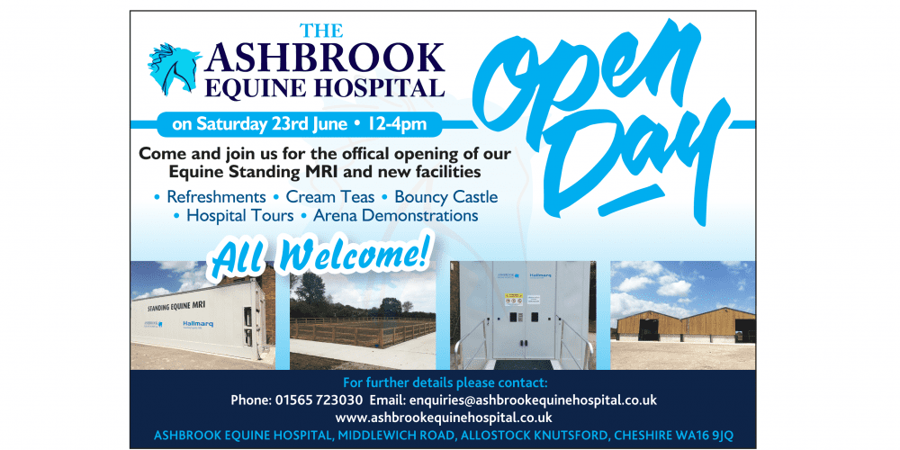 Ashbrook open day flyer